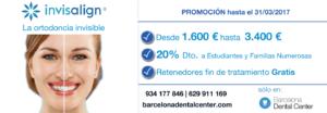 promocion invisalign barcelona precio